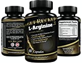 L-Arginine Supplement – 60 Capsules – Enhancement for Men, Premium Amino Acids for Pre Work Out & Energy, All Natural Muscle Mass Formula, Boost Nitric Oxide Levels, L Citrulline – Best L Arginine For Sale
