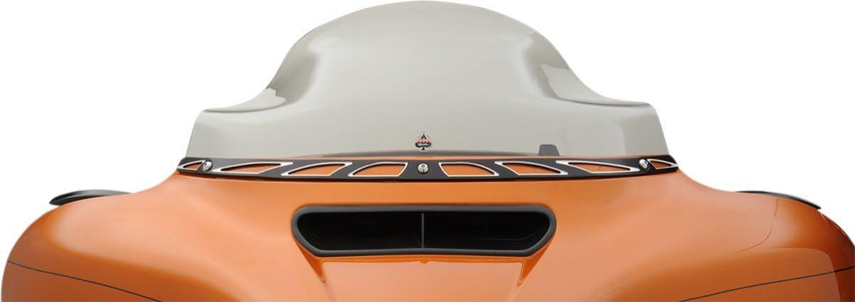 Klock Werks 8.5 Tint Flair Windshield for 2014 /& Newer Harley-Davidson Ultra Classic Street Glide /& Trike models