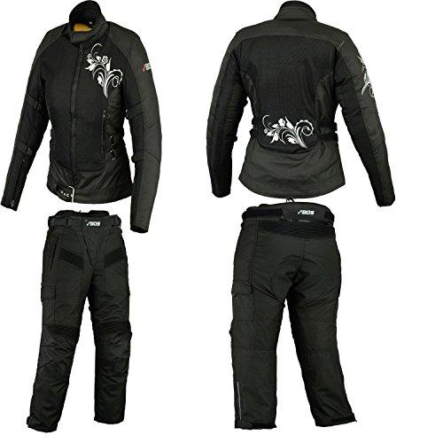 Motorrad kombi, motorraddamen textile kombi, XS