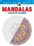 Creative Haven Mandalas Color by Number Coloring Book (Adult Coloring)
