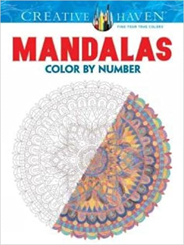 Creative Haven Mandalas Color by Number Coloring Book Creative Haven ...