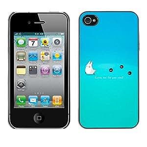 Stuss Case / Funda Carcasa protectora - Catch Me If You Can! - iPhone 4 / 4S