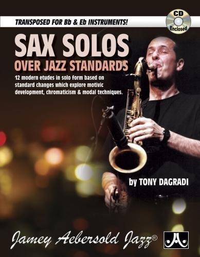 Sax Solos Over Jazz Standards (Book & CD Set)