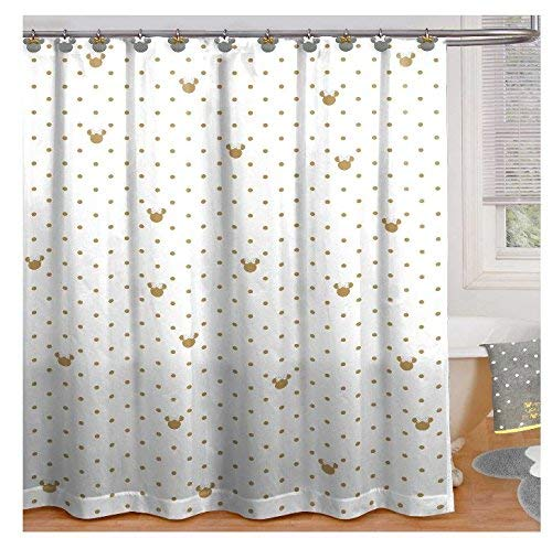 Franco Minnie Mouse Shower Curtain