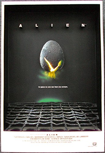 - McFarlane Toys 3D Movie Poster - Alien