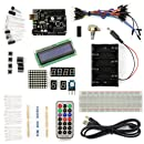 SainSmart UNO R3 Starter Kit with 16 Basic Arduino Tutorial Projects for Beginner (1602 LCD included)