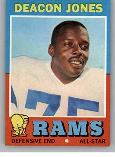 Football NFL 1971 Topps #209 Deacon Jones NM LA Rams ()