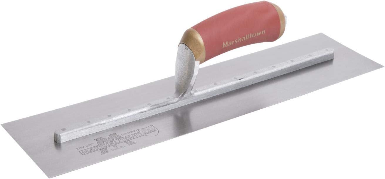 MARSHALLTOWN 14X4 3//4 Plaster Trowel Carbon Steel Plastering Tools