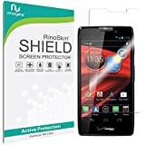 Motorola RAZR MAXX HD Screen Protector [Military-Grade] RinoGear® Premium HD Invisible Clear Shield w/ Lifetime Replacements