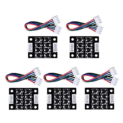 Onyehn TL-Smoother Addon Module for Pattern Elimination Motor Filter Clipping Filter 3D Printer Motor Drivers Controller(5pcs of Pack)