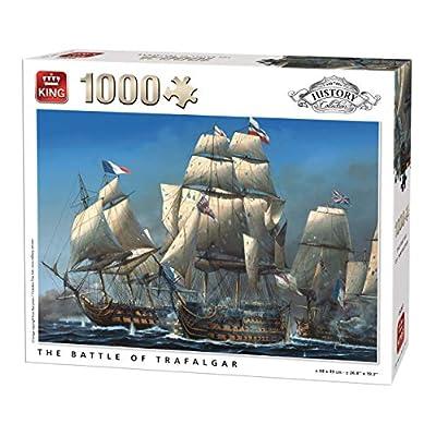 King 5397 Storia La Battaglia Di Trafalgar Puzzle Da Pezzi 49 X 68 Cm