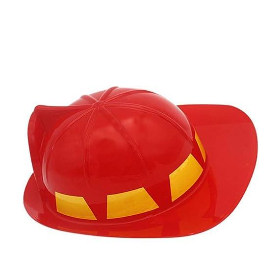 Toyvian Cappello pompiere per bambini - costume pompiere b1bbc0628767