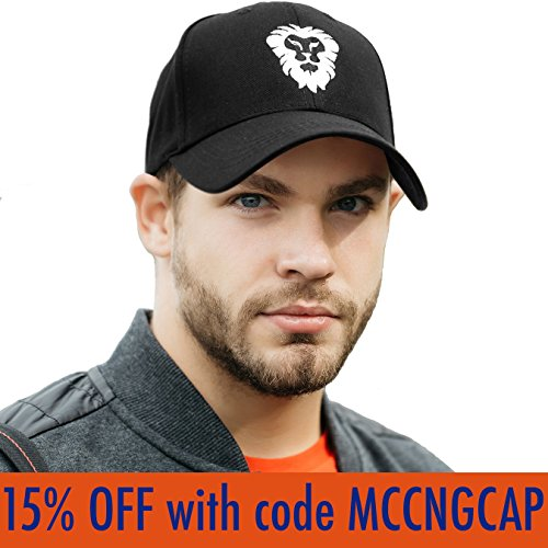 Pro Golf Hat for Men and Women - Adjustable Sports Cap for Running Tennis Baseball - 100% Breathable Cotton