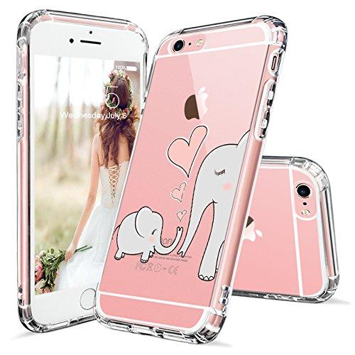MOSNOVO Elephant Pattern Transparent Protective