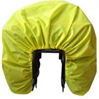 SEVENHOPE Bicycle Rain Cover Bicycle Rear Seat Carrier Sac Double Sacoche Bike Commuter Bag Sac De Pluie