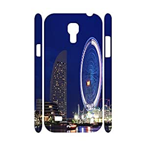 Colorful Natural Scenery Series Sky Wheel Photographic Hard Plastic Protective Cover for Samsung Galaxy S4 Mini I9195 Case
