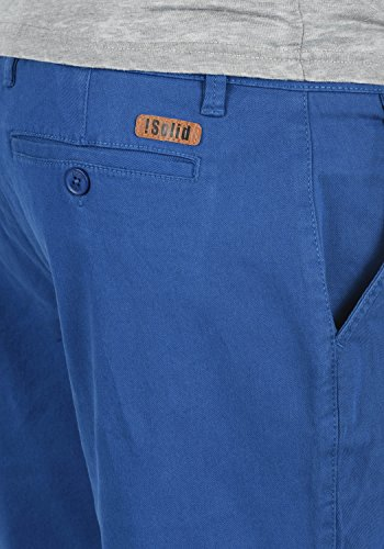 Para Bermuda Chino Regular Pantalón Tela 1839 fit Corto Elástico Lamego De Hombre Pantalones solid Limoges nIBq8q