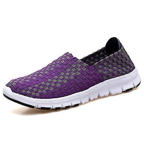 des La Purple pour Mode Beach Légères Respirantes Chaussure Occasionnels Femmes DC Les Shoes 919 Filles 1FtFnqwX