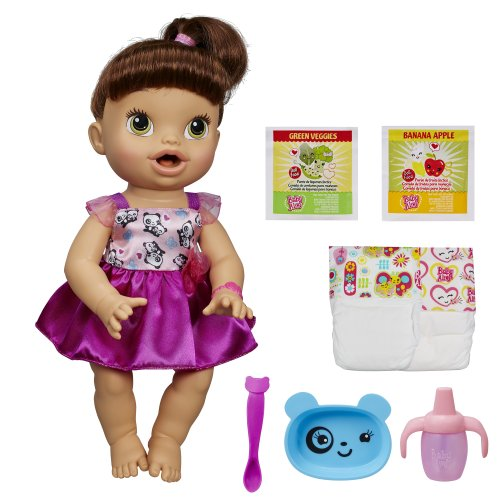 51Ru 4iGhQL - Baby Alive My Baby All Gone Doll, Brunette (Discontinued by manufacturer)
