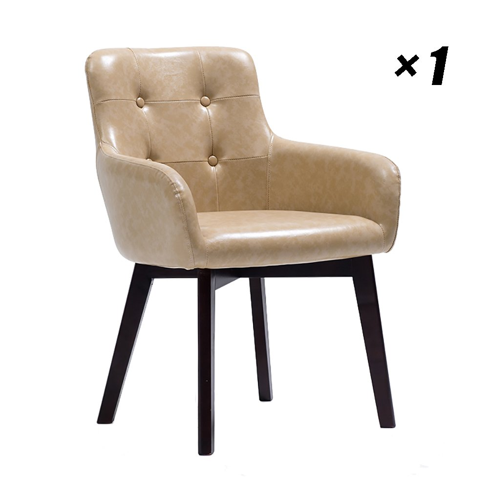 Solid wood dining chairs modern cafe lounge seat simple household kitchen chair for hotel conference office 59 5x59 5x81cm color style 2 b