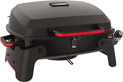 Megamaster 820-0065C Propane Gas Grill, Red Black