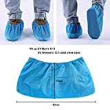 Shoe Covers Disposable - 100 Pack