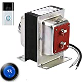Doorbell and Thermostat Transformer 24V 40VA,Compatible with Ring,Nest Doorbell and Nest,Honeywell,Sensi,Ecobee Thermostat UL Certified Power Supply Adapter