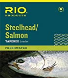 Cheap Rio Fly Fishing Salmon/Steelhead 9′ 16Lb Leaders (Pack 3), Glacial Green
