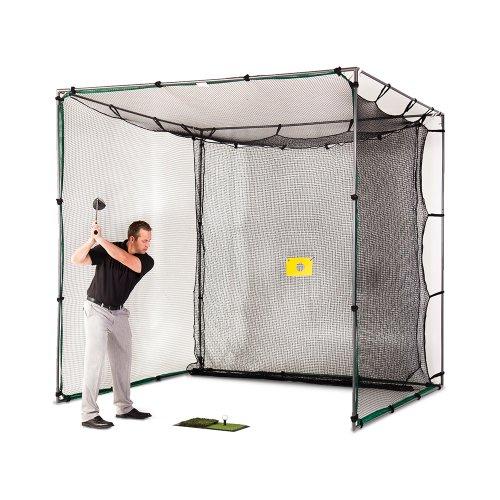 Swing Cage Pro Steel Frame Golf ()