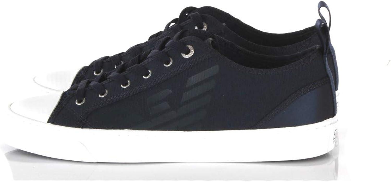 Sneakers Uomo Ea7 11 Blu X8x038 Xk068 Primavera Estate 2019