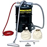 Nortech N551BCXP B Vacuum Unit with 1.5 Inch Inlet and Powder Coating Attachment Kit, 55 Gallon