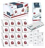 Miele Performance Pack 16 Type FJM AirClean 3D Efficiency Genuine FilterBags + Genuine