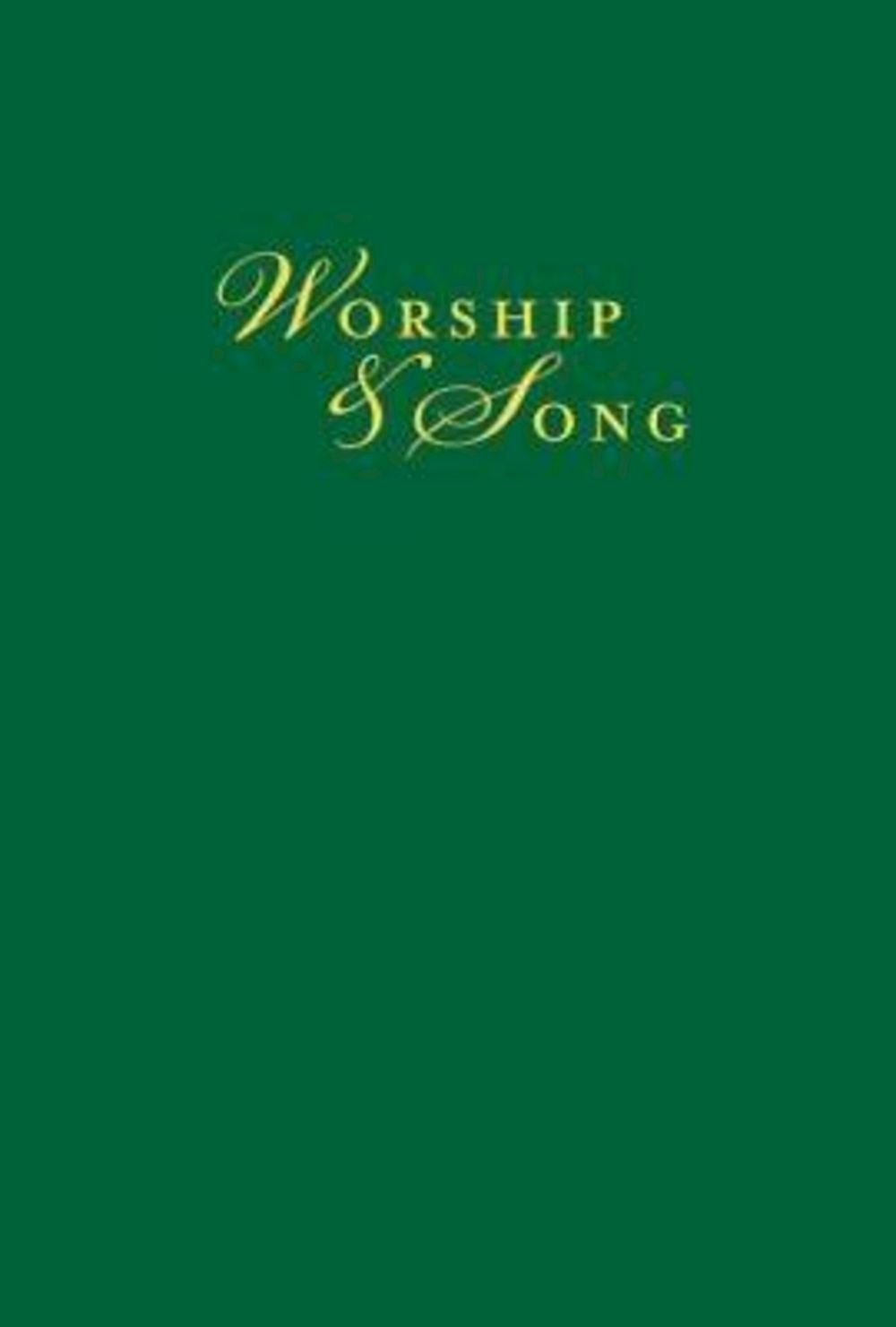 Worship & Song Pew Edition with Plain Cover pdf epub