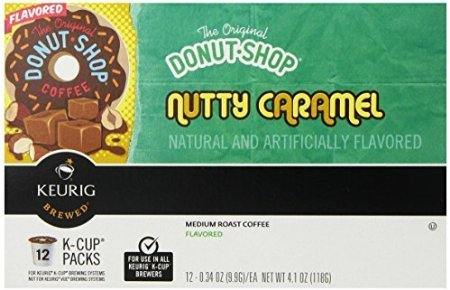 Keurig, The Original Donut Shop, Nutty Caramel, K-Cup Packs, 72 Count by SmileMore
