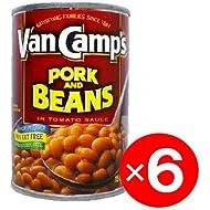 Van Camp's Pork N Beans 15oz 6pack