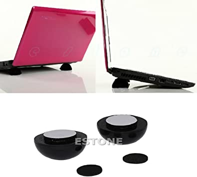 NEW Laptop Notebook Cool Ball Cooler Stand Skidproof Pad