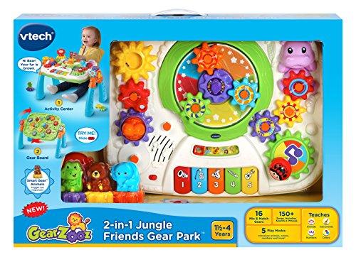 VTech GearZooz 2-in-1 Jungle Friends Gear Park