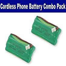 Sanik 3SN-5/4AAA80H-S-J1 Cordless Phone Combo-Pack includes: 2 x EM-CPH-488D Batteries by Synergy Digital