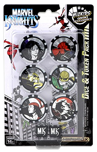 Marvel Heroclix : Avengers / Defenders War Dice &トークンパック