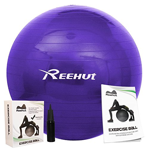 reehut-anti-burst-core-exercise-ball-for-yoga-balance-workout-fitness-w-pump-purple-55cm