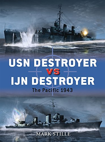 Destroyer Military - USN Destroyer vs IJN Destroyer: The Pacific 1943 (Duel)