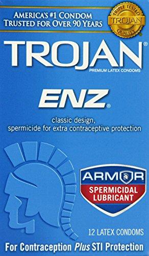trojan-condom-enz-spermicidal-12-count
