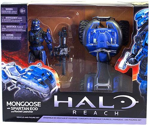Halo Reach McFarlane Toys Deluxe Vehicle with Action Figure Boxed Set Rocket ... ()