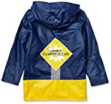 Wippette Baby Boys Printed Raincoats, Workzone Navy - Matte, 12M