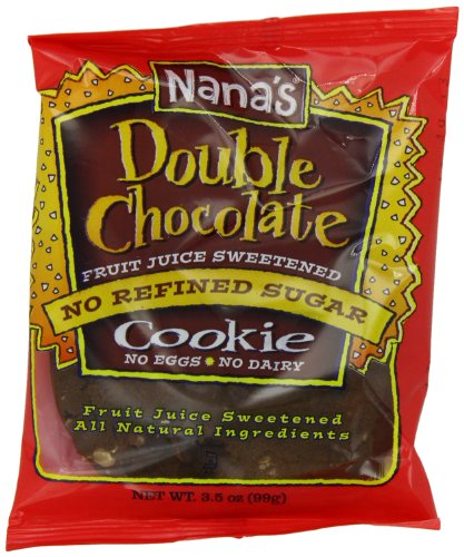 Nana's Double Chocolate Cookies, 3.5-Ounce Packages (Pack of - Land Sugar Mall
