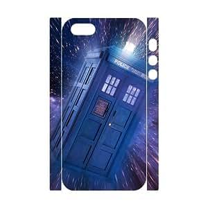 Doctor Who Tardis Iphone 5 5s Hard Plastic Case Slim Printing Cover U2480485