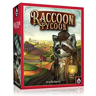 Forbidden Games - Raccoon Tycoon (Standard Edition) - Board Game