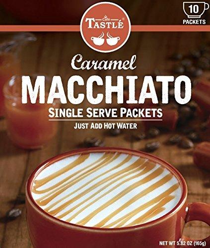 Cafe Tastle Single Serve Coffee, Caramel Macchiato, 120 Count