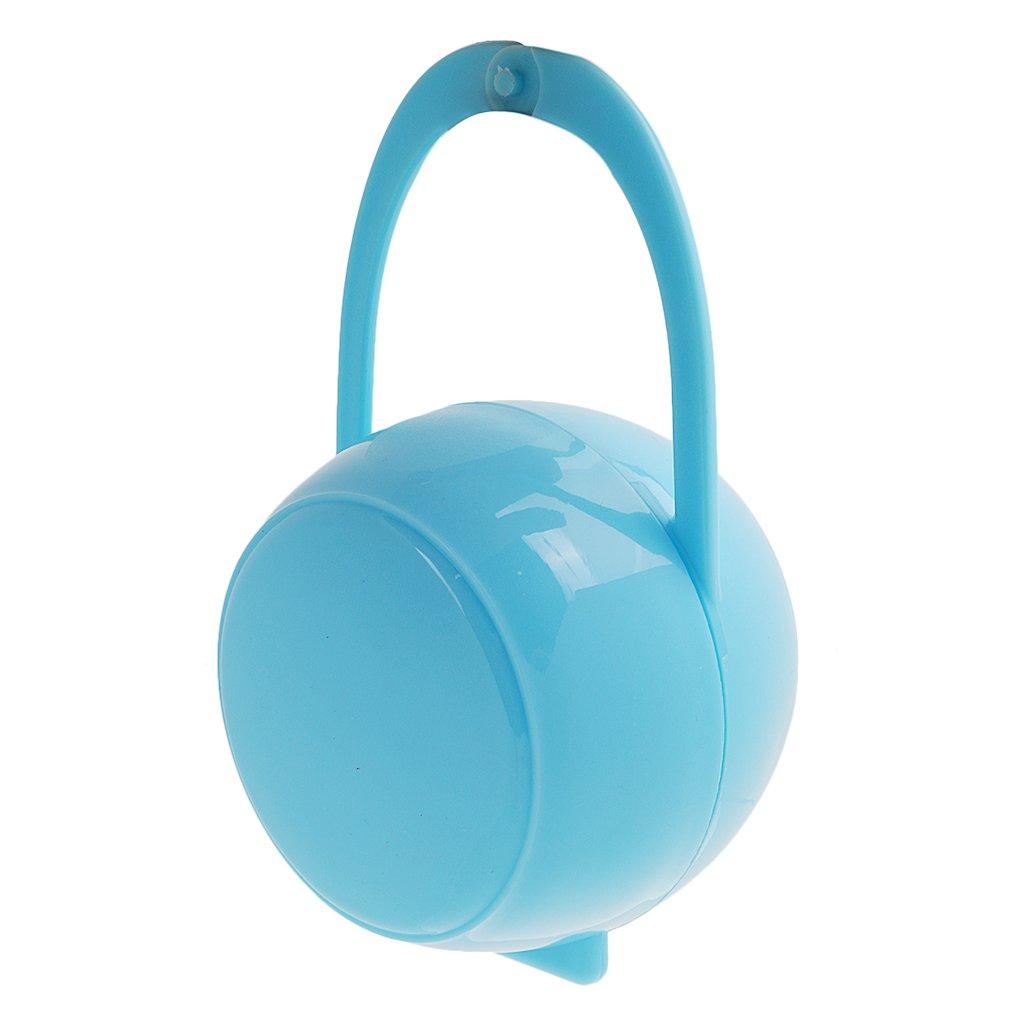 Azul Port/átil Caja De Chupetes Chupete Pez/ón Soporte Para Ni/ño Muchacho Beb/é