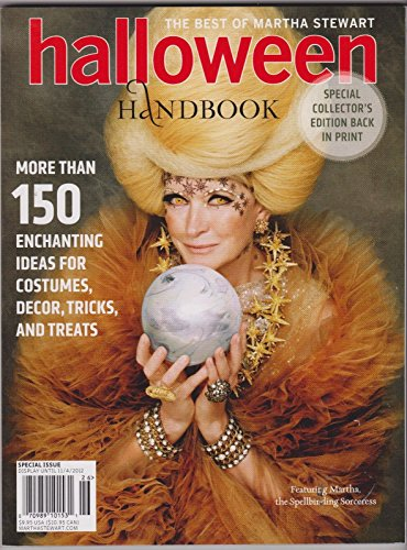 THE BEST OF MARTHA STEWART HALLOWEEN HAND BOOK 2012, SPECIAL COLLECTORS (Halloween Newsletter Names)